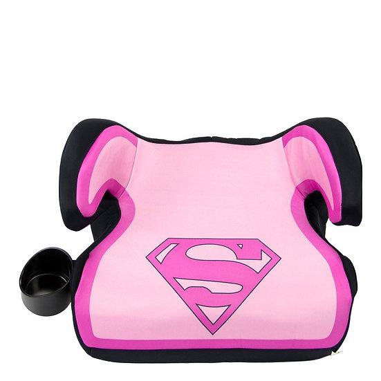 Автокресло бустер Супергерл с розовой полоской (Booster) от 4 лет