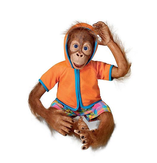 Обезьянка орангутанг Jollie