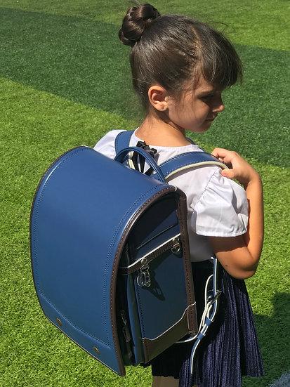 Школьный портфель (синий)