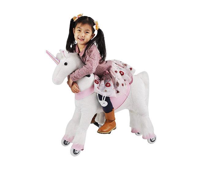 Механический Пони (Единорог белый) 3-6 лет