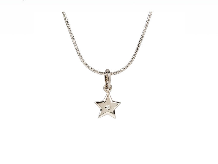 """Кулон на цепочке """"Звезда"""""""