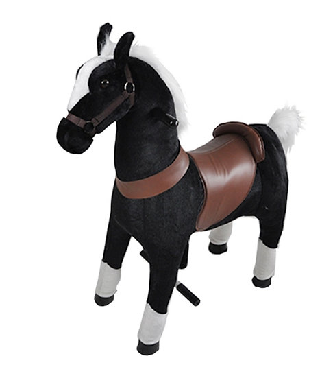 Механический Конь (Чёрный) 5-12 лет