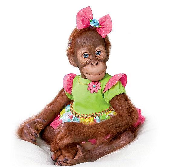 Обезьянка орангутанг Mollie