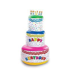 Надувной торт, торт резиновый, торт, день рождения