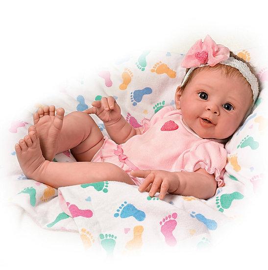 Интерактивная кукла Шерри Раун (Дышащая)
