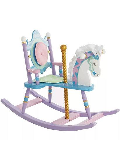 Деревянная лошадь-карусель
