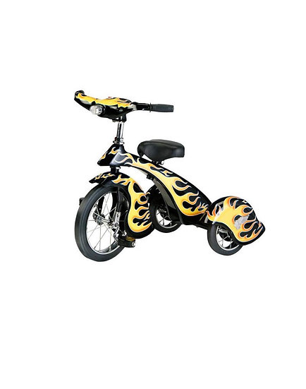 Трехколесный Велосипед Black Hot Rod