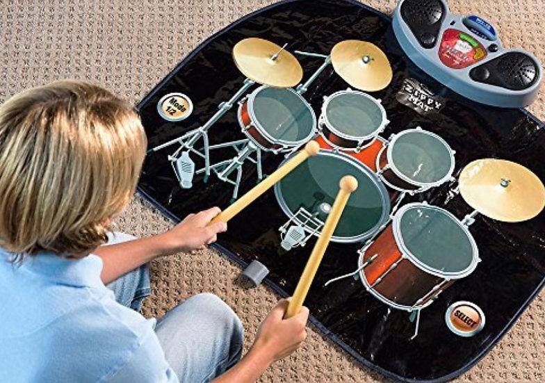 Портативный барабанный музыкальный коврик