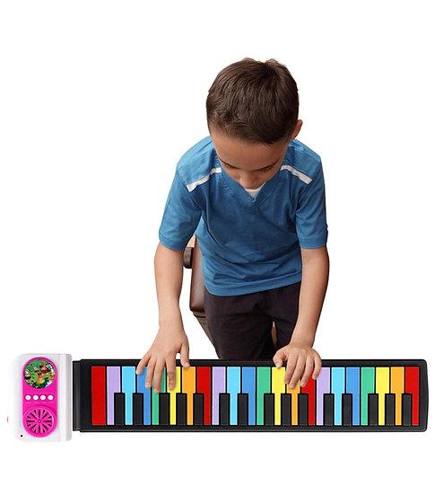 Портативная детская пианино