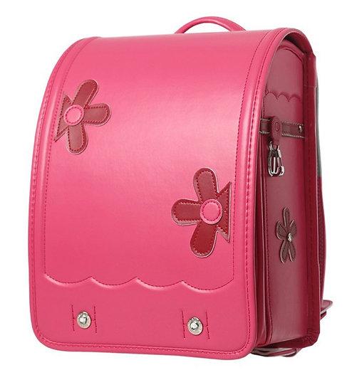 Школьный портфель (Розовый с цветами)