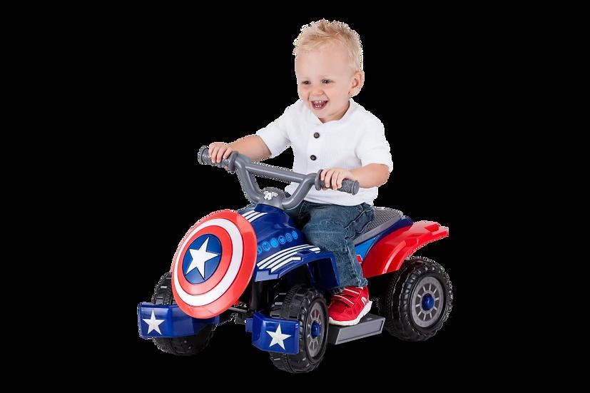 Квадрацикл Капитан Америка