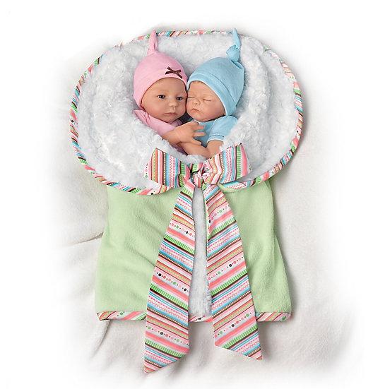 Куклы близнецы Мэдисон и Мейсон