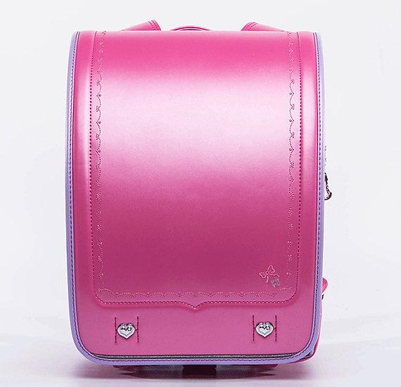 Школьный портфель (Розовый с перламутром)