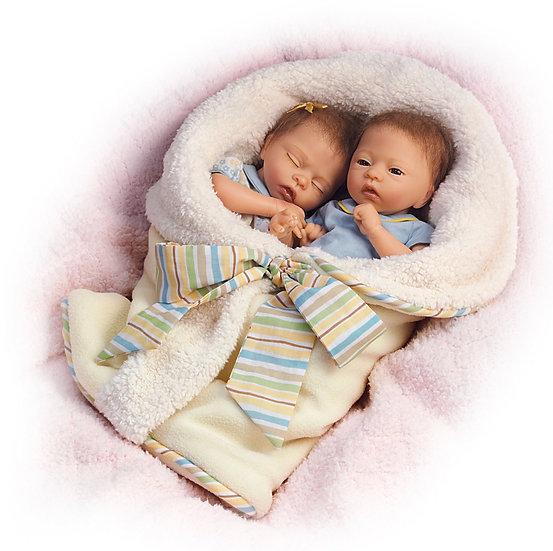 Куклы близнецы Тейлор и Тайлер