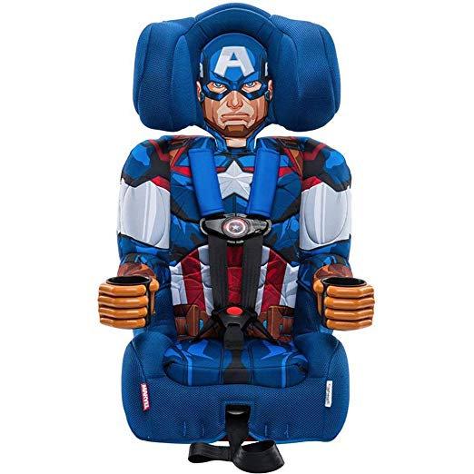 Детское автокресло Капитан Америка