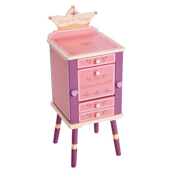 Ювелирный шкаф для детей (фиолетовый)