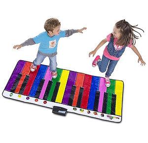 Портативная детская пианино для ног