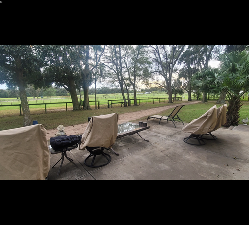 Pasture views, deck with grill, wood, and electric fire pits