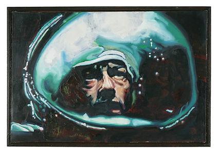 Alien,oil on canvas, 54cm x 80cm, May 20