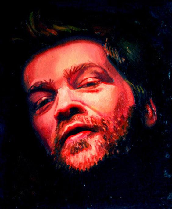 Duncan, Oil on Canvas, 30cm x25cm, Jun 0