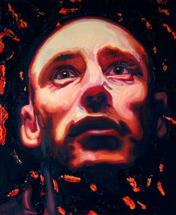Barry ,30cm x25 cm, Oil on Canvas. Jun20