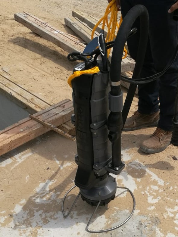 E/ONE Submersible Sewage Grinder Pump
