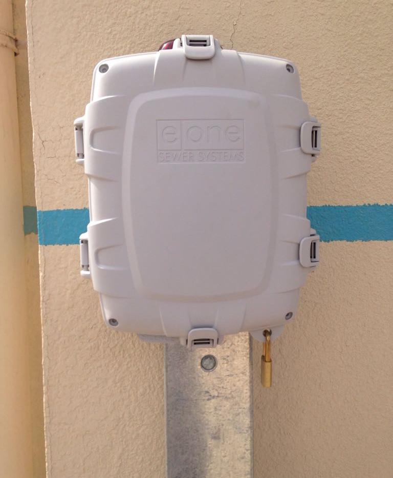 E/One Alarm Panel