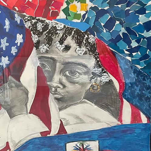 Little Haitian-American Girl