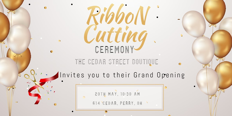 Ribbon Cutting/Grand Opening The Cedar Street Boutique