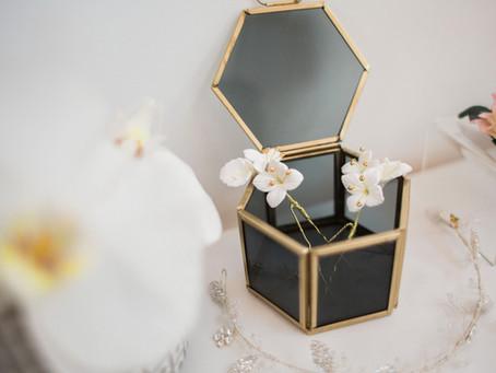 Claire Austin bridal accessories