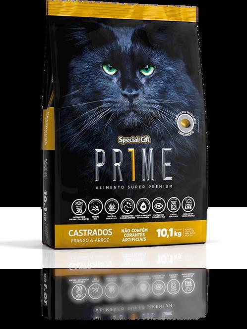 Ração Special Cat Prime Super Premium Adulto Castrado Frango e Arroz 10,1 kg