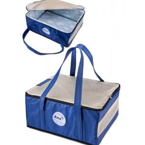 Bolsa De Transporte Para Cães Companhia Aérea Azul