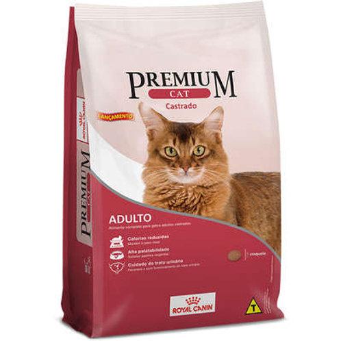 RaçãoRoyal CaninPremium Cat para Adultos Castrados