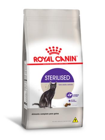 Ração Royal Canin Sterilised Adulto