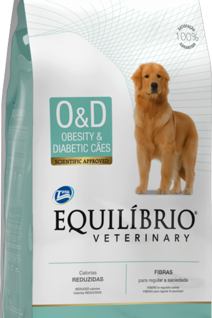 Ração Equilíbrio Veterinary Obesity & Diabetic