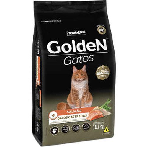 Ração Golden Gato Castrado Salmão