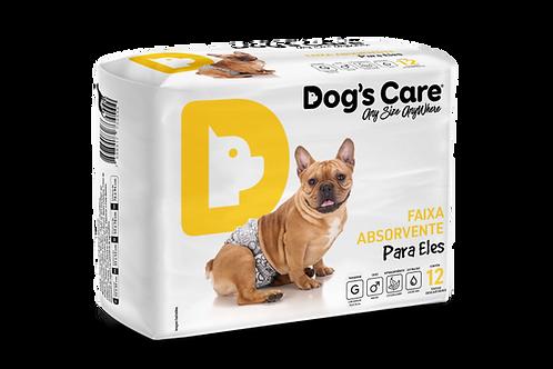 Fralda Higiênica Dog's Care para macho
