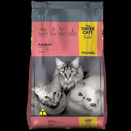 Ração Three Cats Premium Especial Original Adultos 1 Kg