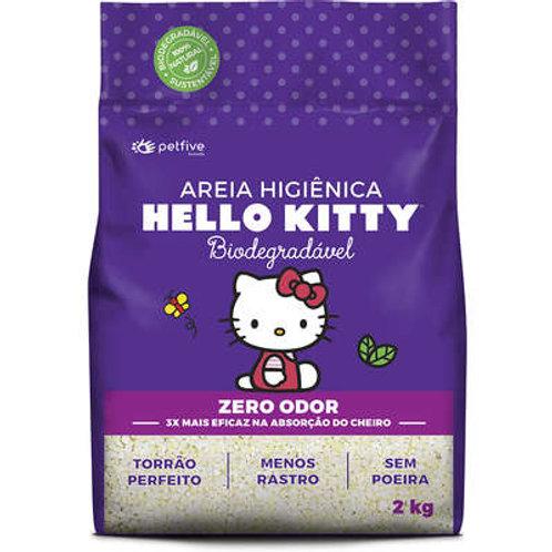Areia Sanitária Hello Kitty Bio Grosa- 2 Kg
