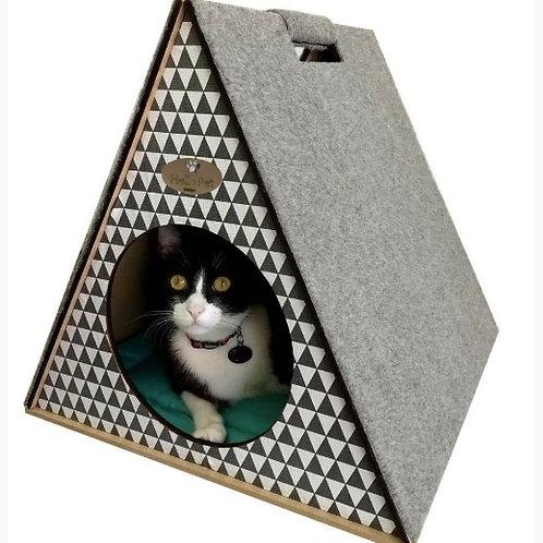 Toquinha Com Arranhador para Gatos