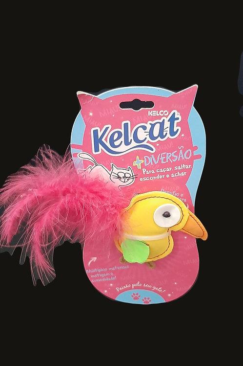 Brinquedo Pássaro Pluma Kelcat