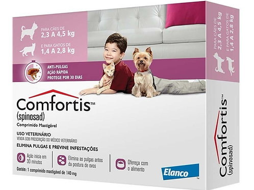 Antipulgas Comfortis 140 mg