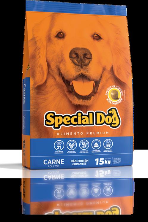 Ração Special Dog Premium Carne Adulto