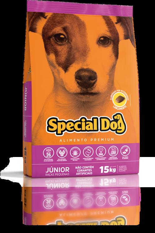 Ração Special Dog Premium Júnior Raças Pequenas 15 Kg