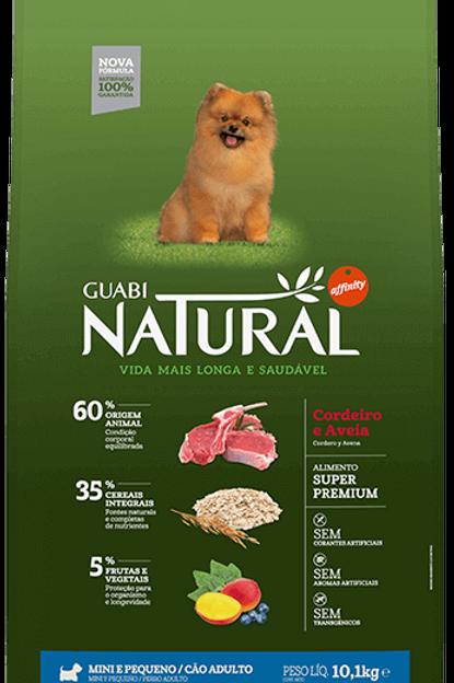 Ração Guabi Natural Cordeiro e Aveia para Cães Adultos Raças Mini e Pequenas