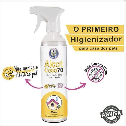 Alcat Casa 70 - Higienizador para Casa e ambientes e acessórios )
