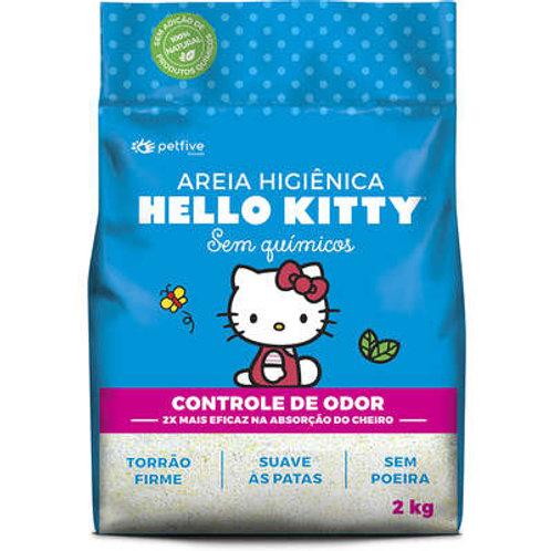 Areia Sanitária Hello Kitty Azul - 2 Kg