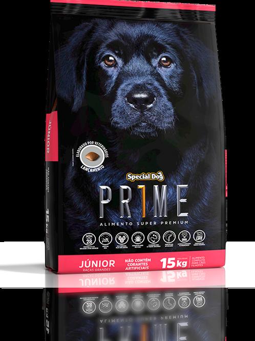 Ração Special Dog Prime Super Premium Júnior Raças Grandes 15 kg