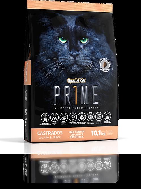 Ração Special Cat Prime Super Premium Castrado Salmão e Arroz