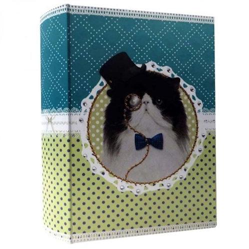 Livro Caixa PetPop Gato Exclusivo